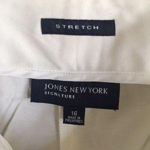 White pants size 16